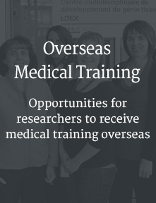 Overseas Medical Training, Opportunities for
