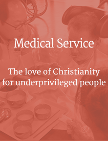 Medical Service, The love of Christianity