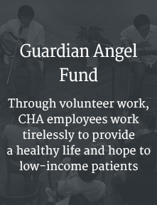 Guardian Angel Fund, Through volunteer work,